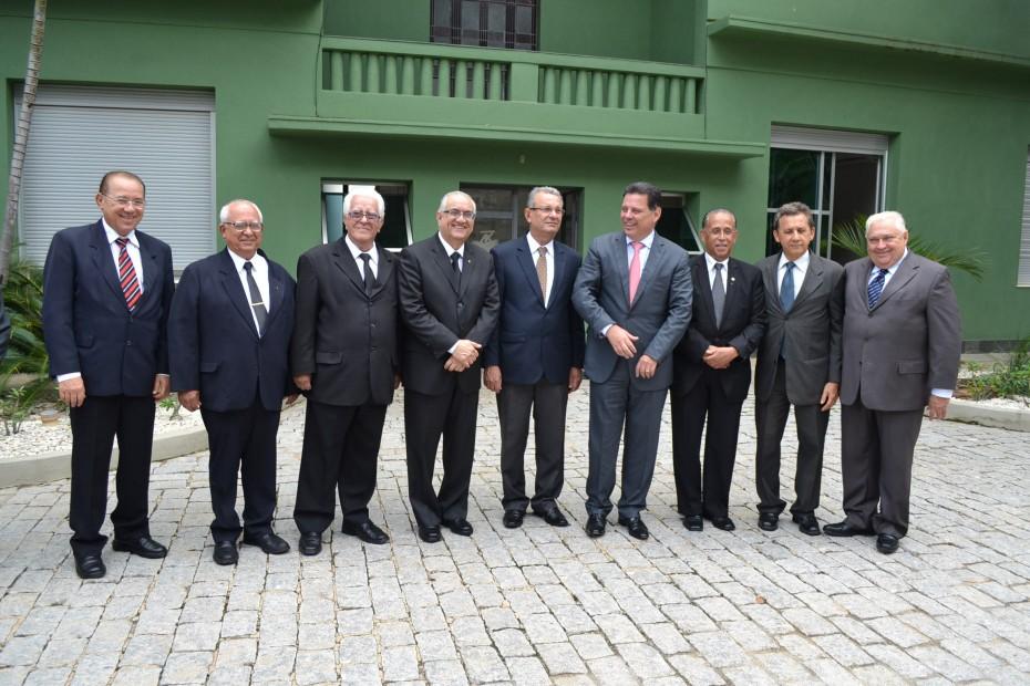 Maçonaria Goiana é recebida em Palácio pelo Governador Marconi Perillo