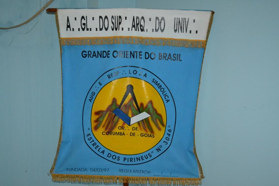 Estrela dos Pirineus recebe visita do Grão-Mestre Estadual
