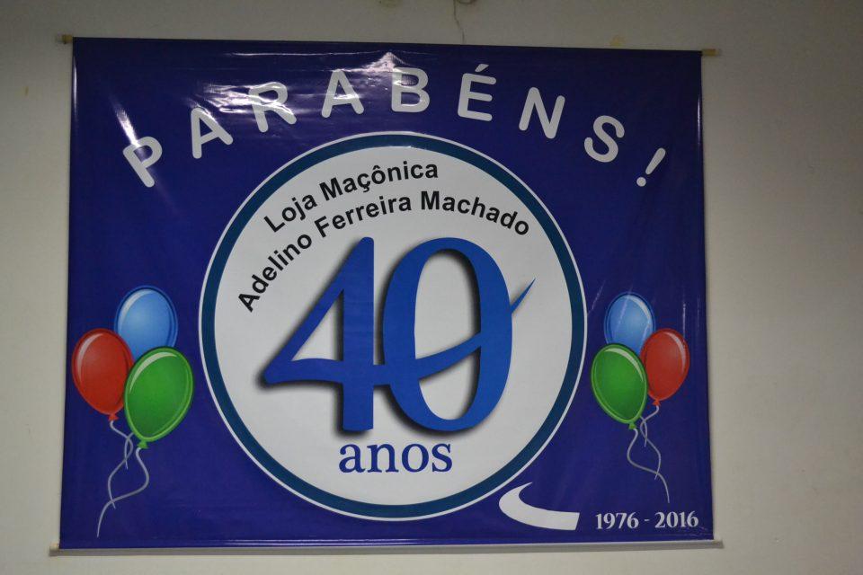 Loja Adelino Ferreira Machado comemora 40 Anos e presta homenagens às mães.